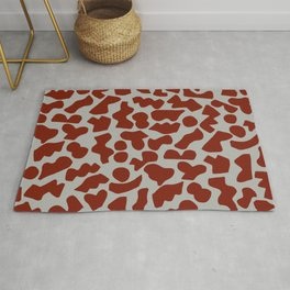 Shapes, Red Rug