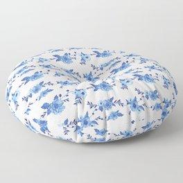 CB x SK BLUE FLORAL Floor Pillow