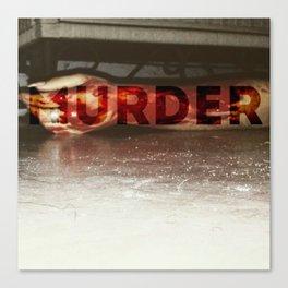 """"""" Murder baby"""" Canvas Print"""