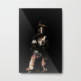 Portrait of a clown Metal Print
