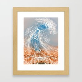 Dancing Tree (late fall) Framed Art Print