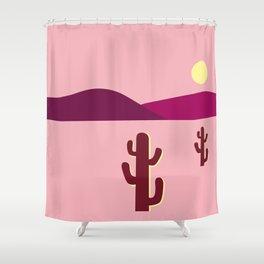 Morning sun in Wild west Shower Curtain