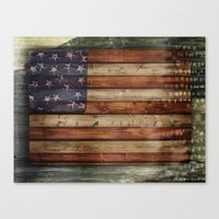 america Canvas Prints featuring america by Arken25
