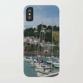 Boats in a Marina iPhone Case
