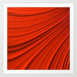 Renaissance Red Art Print