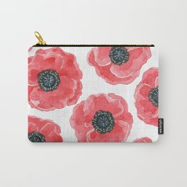 Popies watercolor Carry-All Pouch