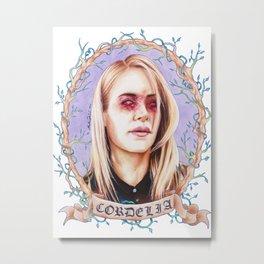 pluck Metal Print