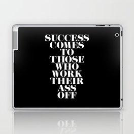 Success Comes to Those - Black Laptop & iPad Skin