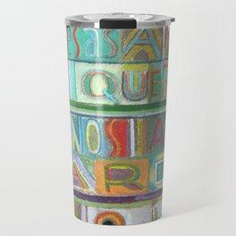 Palabras de Buenos Aires Travel Mug