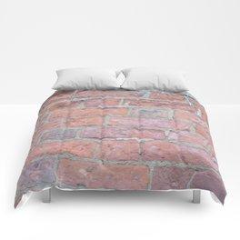 Red Brick Texture Comforters