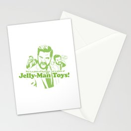 Jelly-Man Toys | Green Stationery Cards