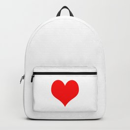 Classic Old Red Love Backpack