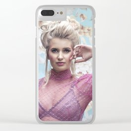 Let them eat cake - a modern Marie Antoinette Clear iPhone Case