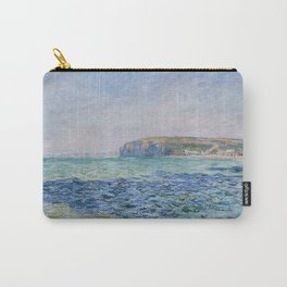 Shadows on the Sea at Pourville by Claude Monet Carry-All Pouch