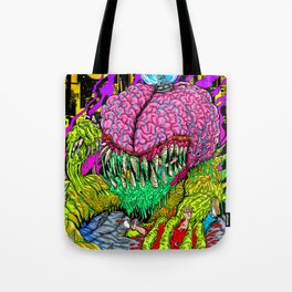 Bulb Brain Critic Destroyer Tote Bag
