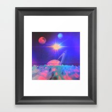 The Great Influences of the Star (Chorus) Framed Art Print