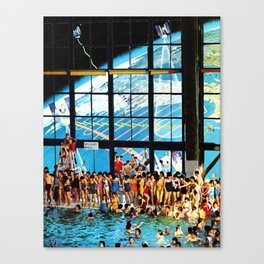 Welcome To The New World II Canvas Print