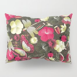 butterflies... dragonflies... and ladybugs! Pillow Sham
