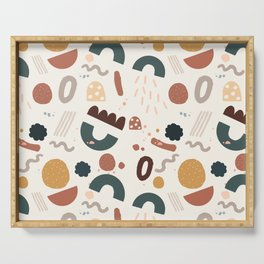 Geo Shapes Party Serving Tray