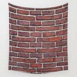 Dark Brick Wall Tapestry