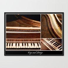 Keys and Strings Canvas Print