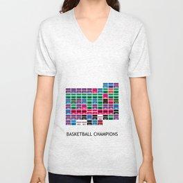 Baskeball Champions Unisex V-Neck