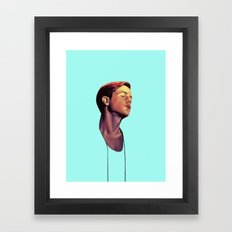 Perfume Genius Framed Art Print