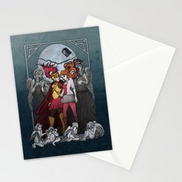 The Angels take the Ponds Stationery Cards