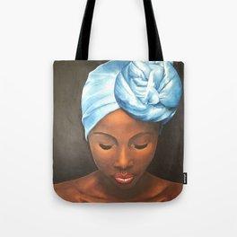 African Portrait IV Tote Bag