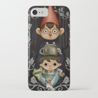 over the garden wall iPhone & iPod Cases featuring Over the Garden Wall. by toibi