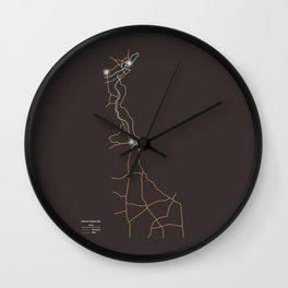 Delaware Highways Wall Clock