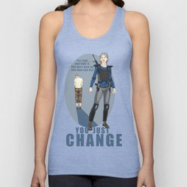 One day you just change - Carol Peletier Unisex Tank Top