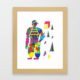 The Raver Framed Art Print