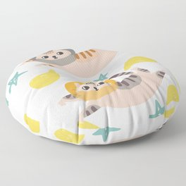 Simba the cat Floor Pillow