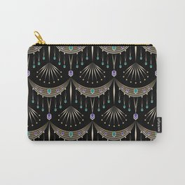 """Art deco ornament """"Kleo"""" Carry-All Pouch"""