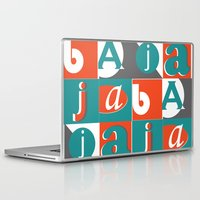 typo Laptop & iPad Skins featuring Bajaja Typo by Bajaja