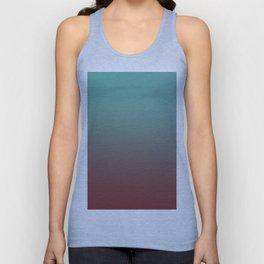 CHEMICAL COINCIDENCE - Minimal Plain Soft Mood Color Blend Prints Unisex Tank Top