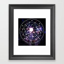 Gods Compass Framed Art Print