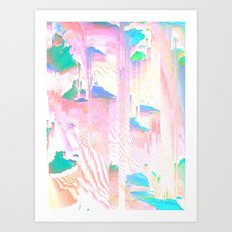 Pastel Dreams Art Print