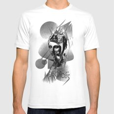 METROPOLIS MEDIUM White Mens Fitted Tee