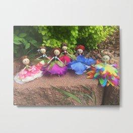 Fairy Friends Metal Print