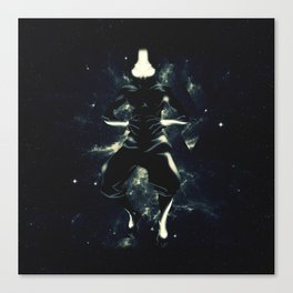 The Legend Of Aang Canvas Print