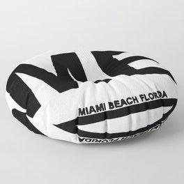 Miami Beach. Floor Pillow