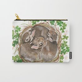 Bunny Nest Carry-All Pouch