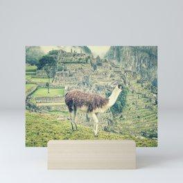 Machu Picchu Mini Art Print