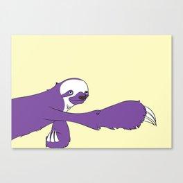 The Sloth Canvas Print