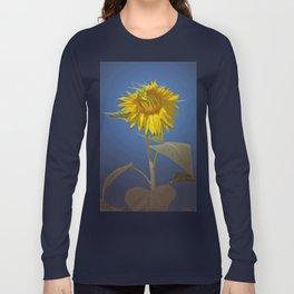 Sunflower in Spotlight Long Sleeve T-shirt