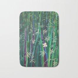 Bambu oriental wall Bath Mat