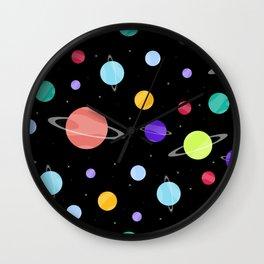 Cosmic Dust Wall Clock
