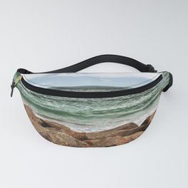 Barrier Sea Rocks Fanny Pack